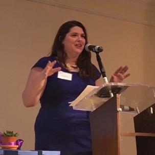 Katie Speaking